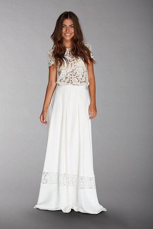 robe de mariée créateur fabienne Alagama Paris et Lyon - lookbook 2016