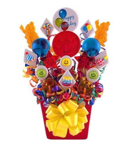 #Birthday #Celebration Tin #Bouquet #Candy #USA #BirthdayGifts