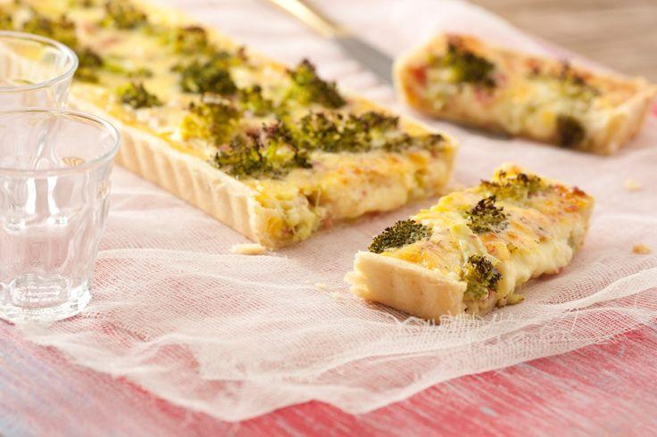 Tarta de brócoli - Maru Botana