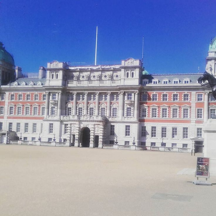 The Old Admiralty Building in Horse Guards Parade #London #uk #royal #tourism #travel