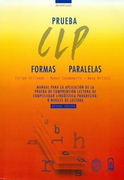 PRUEBAS DE COMPRENSIÓN LECTORA (CLP) - AULA PT