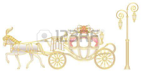 principessa vintage: Rosa di carrozza trainata da cavalli