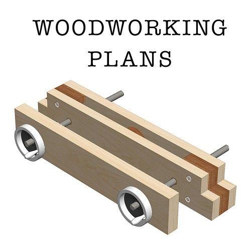 Model How To Build Wood Vise PDF Plans