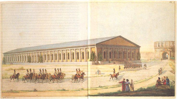 Акварель Бетанкура, 1820 г.