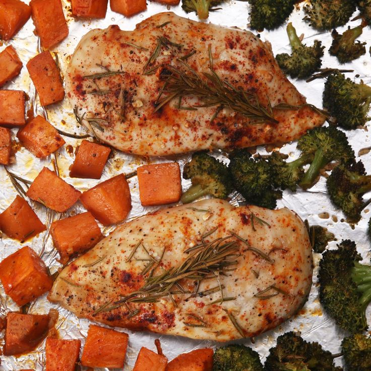 One Pan Chicken And Veggies