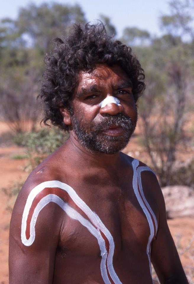 Aborigine, Outback, Australia, by Jim MacLaren