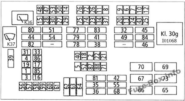 Bmw 3 Series E90 E91 E92 E93 2005 2013 Fuse Box Diagram Fuse Box Bmw 3 Series Bmw Series