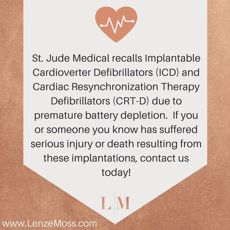 nice St. Jude Medical recalls Implantable Cardioverter Defibrillators and Cardiac Res... Euro Media