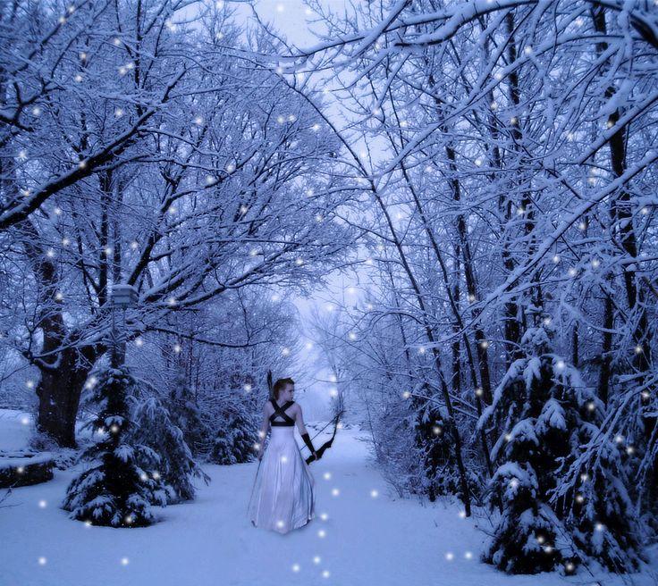 Snow Storm Art