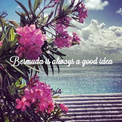 "Twitter / GoToBermuda: ""#Bermuda is always a good ..."