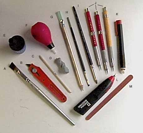 Artist Tools For Drawing