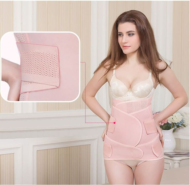 3 in 1 #Breathable #belly #band after delivery #tummy #belt #postpartum wrap for stomach and hips  http://www.yoyopostpartumgirdle.com/