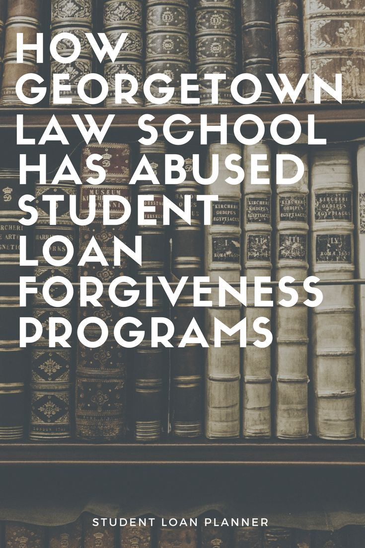 Georgetown Law School has been among the