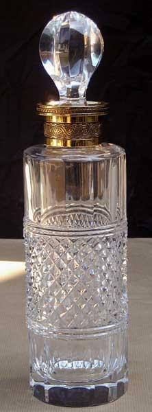 Flacons parfum en cristal
