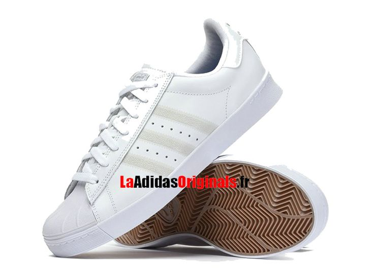 Adidas Skateboarding Superstar Vulc - Chaussure Adidas Originals Pas Cher Pour Homme/Femme Blanc F37463-Boutique Adidas Originals de Running (FR) - LaAdidasOriginals.fr