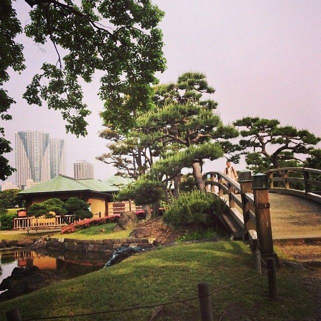 Hana-rikyu gardens, Tokyo