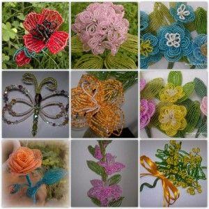 tutorial fiori e bomboniere di perline