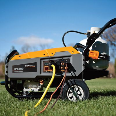 This Generac Portable Propane Generator delivers steady, reliable performance with fewer emissions.