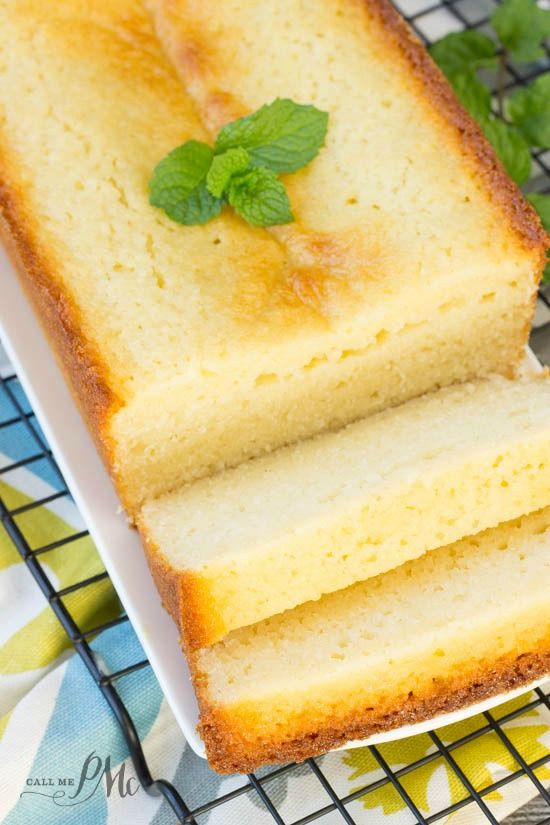 Classic Ricotta Pound Cake is dense and sweet. It is guaranteed to get you rave reviews at your next potluck!