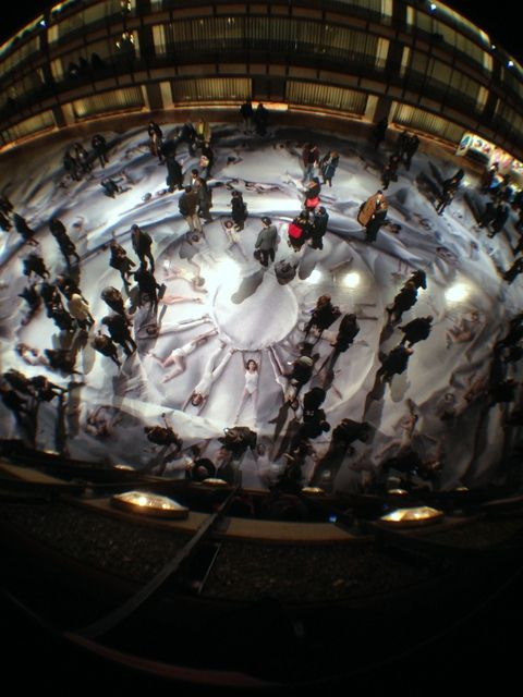 Check Out This Beautiful Installation by JR at the NYC Ballet, Lincoln Center