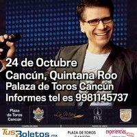 Jesús Adrian Romero Invita a su concierto Tour 2014 24 de Octubre  8:00pm Plaza de Toros de Cancun  Puntos de Venta:   Taquilla de la Plaza Central de Camiones ADO y Malecón las Américas o también vía Internet en TusBoletos.mx