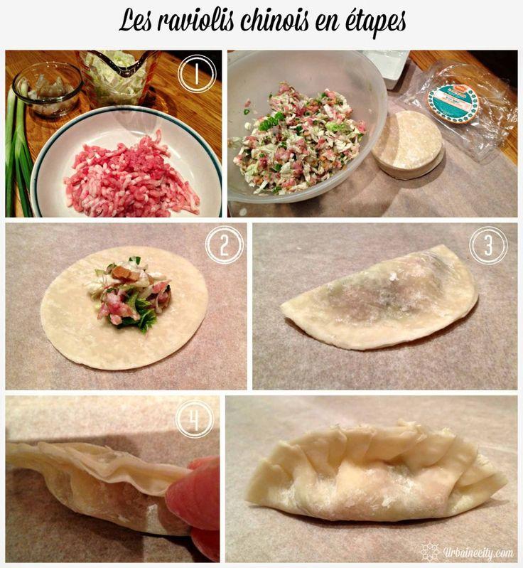 Recette et technique pour faire des dumplings porc et crevettes