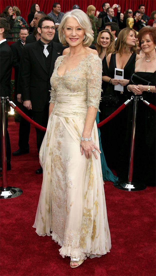 2007: Helen Mirren za Królową, suknia Christiana Lacroix