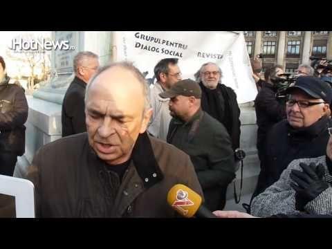 Ce nu s-a vazut la TV la mitingul de solidarizare cu Andrei Plesu