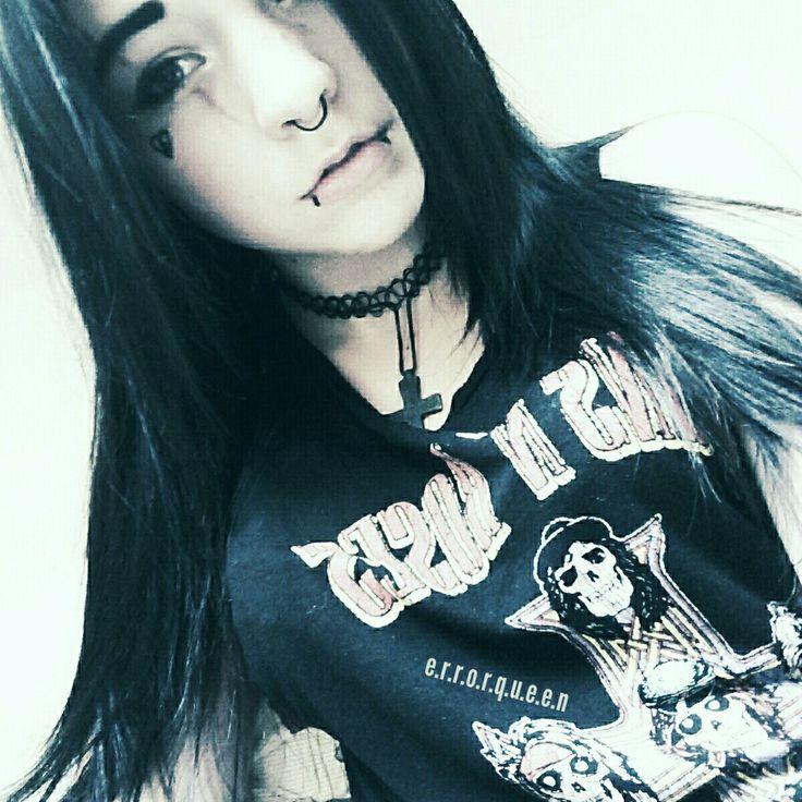 Error Queen Kirana Akari  ♡♡♡ #emo #scene #grunge #outfit #psycho #kawaii #otaku #model