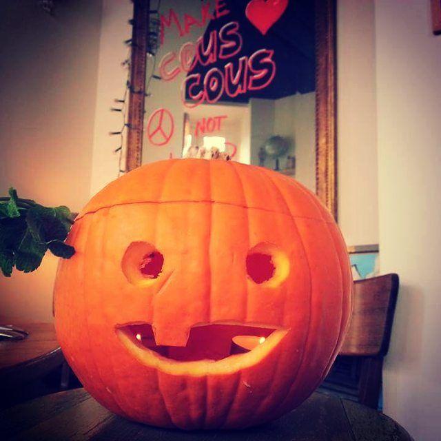 Pour #halloween on vous a préparé des paupiettes de couscous aux calamars et aux herbes :-P #couscousdeli #paris11