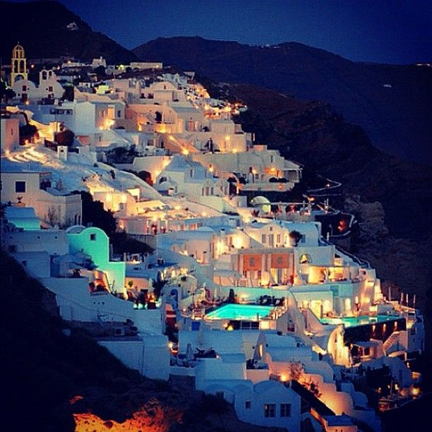 Another Instagram shot from Santorini, Greece. Amazing what you can do these days with an iPhone or iPod camera.