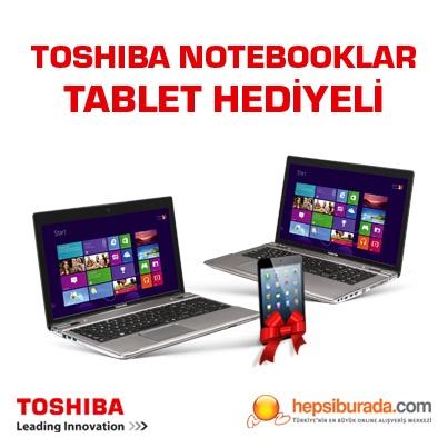 Hepsiburada.com'da Toshiba Notebooklar Tablet Hediyeli!