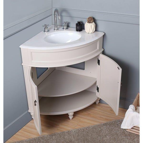 Corner Bathroom Vanity, Bathroom Corner Sinks And Vanities