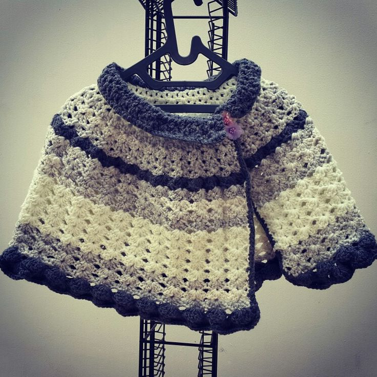My crochet cape
