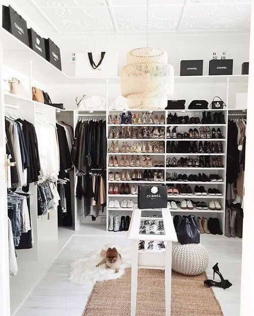 Room converted to walk-in closet