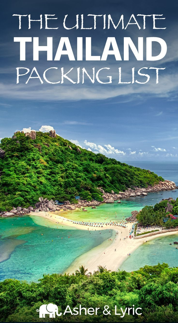 17 top Thailand packing list items + what to wear & NOT to bring. A lot of peopl…