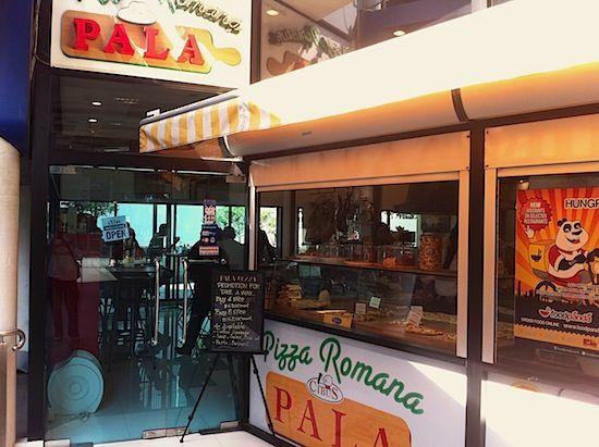Pala Pizza Romana - Pizza by the slice.  Sukhumvit Platform (east of Terminal 21 & right next to Sukhumvit MRT station & Asok BTS station)