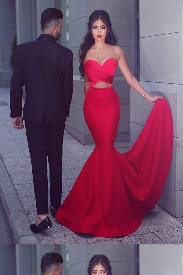 70255aca7890 Long Prom Dresses, Red Mermaid Prom Dresses, Mermaid Evening Dresses, Prom  Dresses 2018, Red Evening Dresses #LongPromDresses #RedMermaidPromDresses  ...
