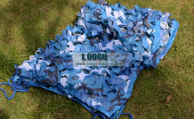 7M*8M Army camouflage netting blue camo mesh netting for sun shelter theme party decoration photography background decoration