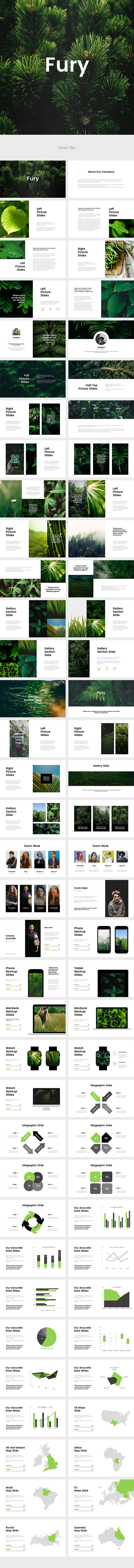Fury Powerpoint Template