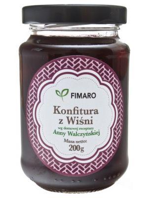 Konfitura z wiśni  • tylko naturalne składniki • wysokiej jakości owoce • polski produkt • głębia smaku i aromatu