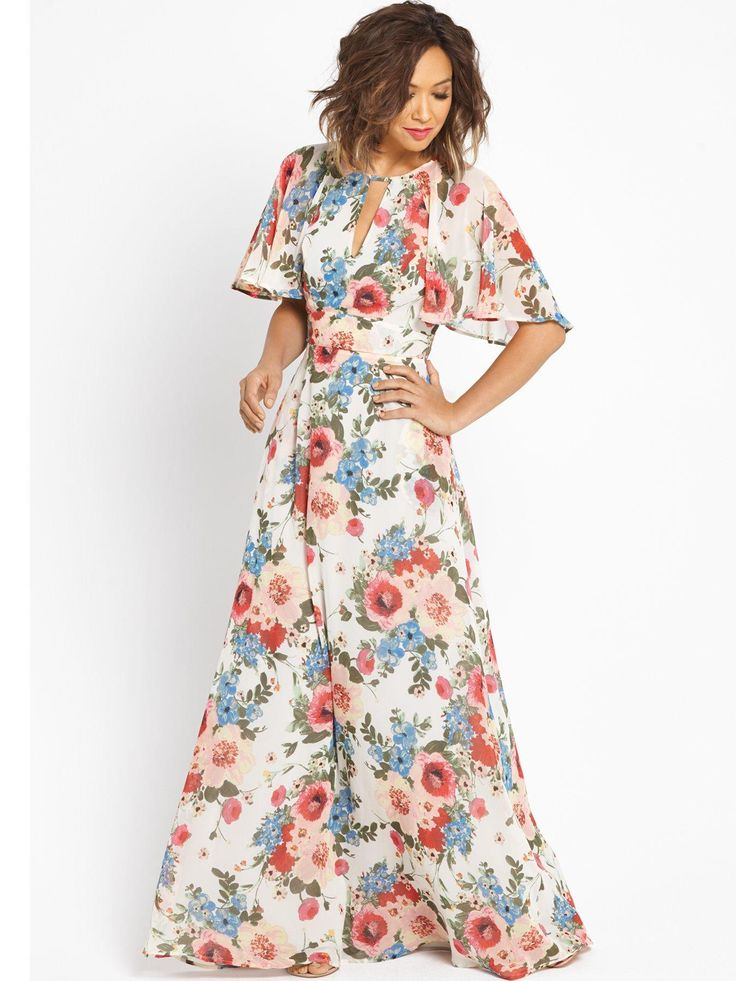 17 best images about tr s chic on pinterest k fashion for Print maxi dress for wedding