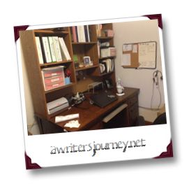 Update: Where the magic happens | A Writer's Journey