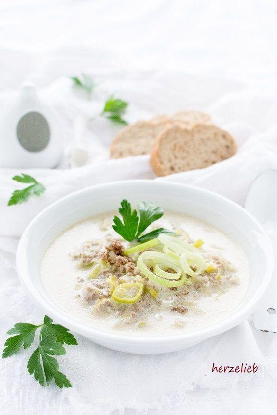 25+ melhores ideias de Hackfleisch käse lauch suppe no Pinterest - käse lauch suppe chefkoch