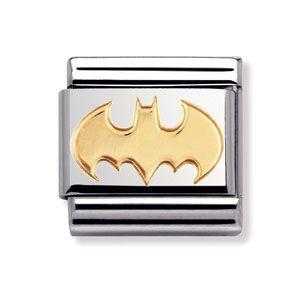 Nomination Batman Classic Gold Italian Charm