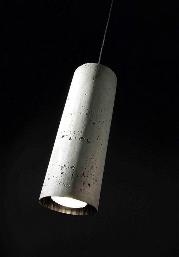 wever ducre concrete tube #Luminaria  #Design #Lighting #Lightmex #WeverandDucre