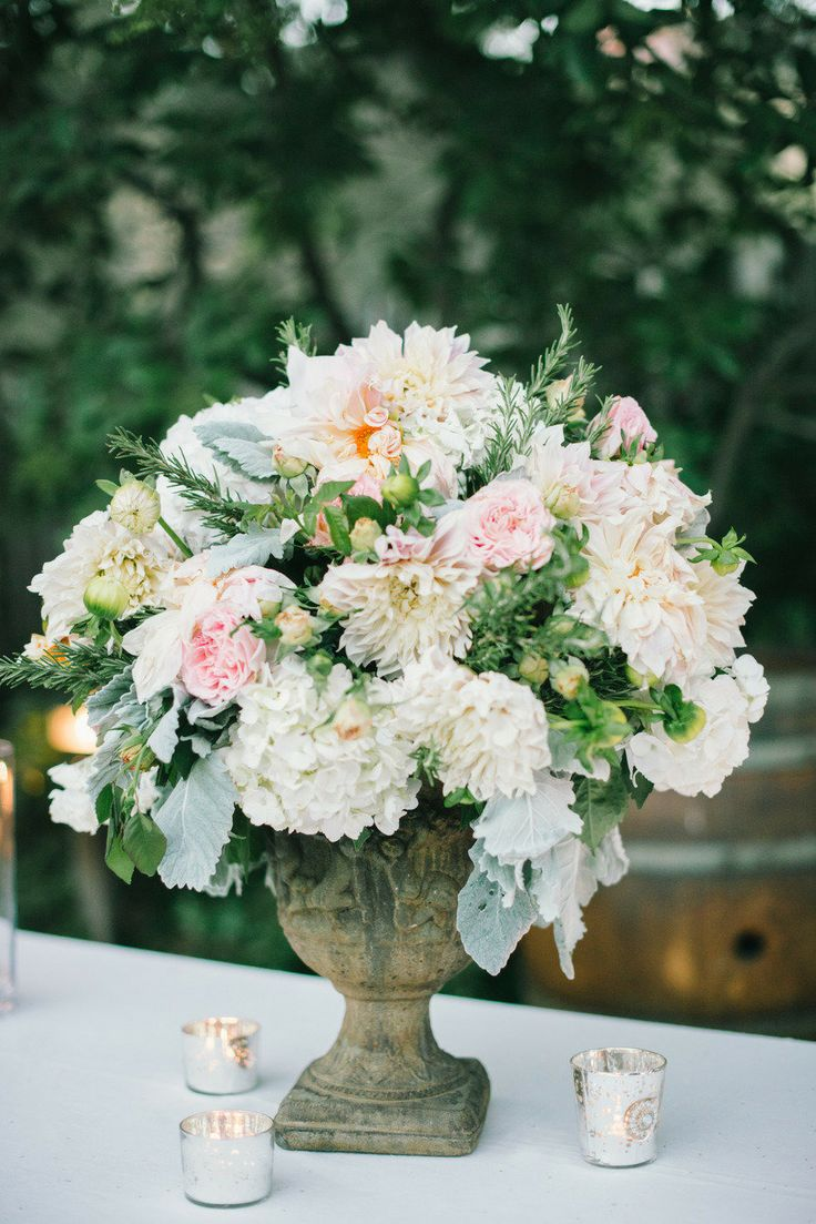 79 best garden wedding decor images on pinterest decor wedding garden wedding decor floral arrangement table arrangements junglespirit Gallery