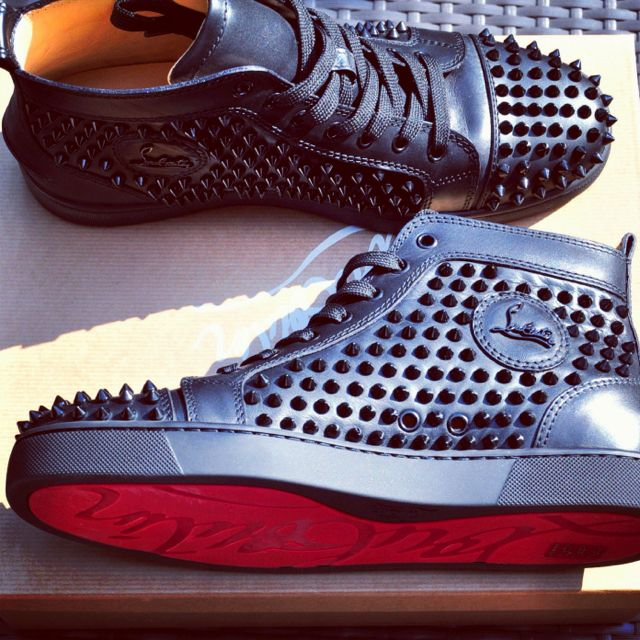 christian louboutin tennis shoes
