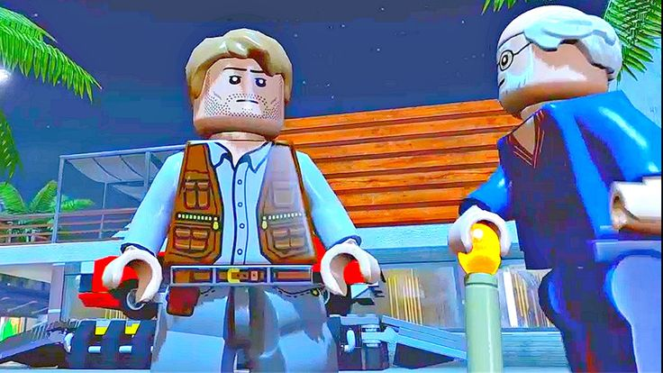 Lego Jurassic World.Водоем Мазозавра.Игры Мультики про Динозавров.Парк Ю...