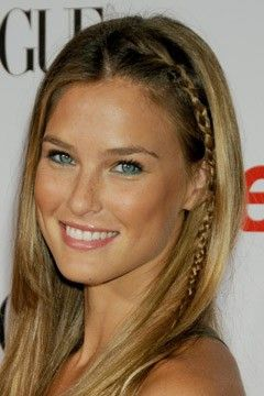 Bar Rafaeli- she is gorgeous and i love her hair color